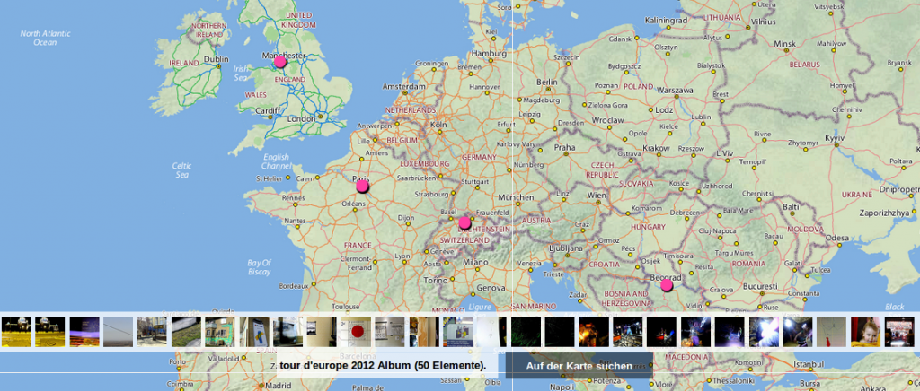 route | tour deurope 2012 | <b><a href='http://www.flickr.com/photos/78798860@N00/sets/72157629397966196/map?&fLat=46.8307&fLon=11.4039&zl=13&order_by=recent' target='_blank' >source</a></b>